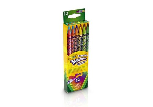 Crayola Crayola Draaikleurpotloden Met Gum 12 Stuks