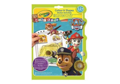 Crayola Crayola Kleur & Stickerboek Paw Patrol