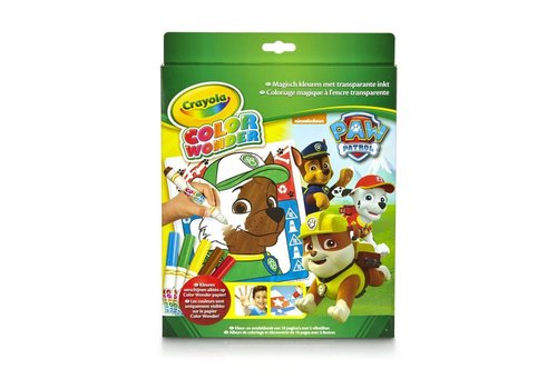 Crayola Crayola Color Wonder Box Paw Patrol