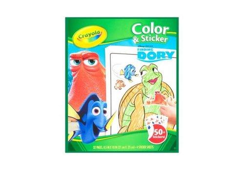 Crayola Crayola Kleur & Sticker Boek Dory