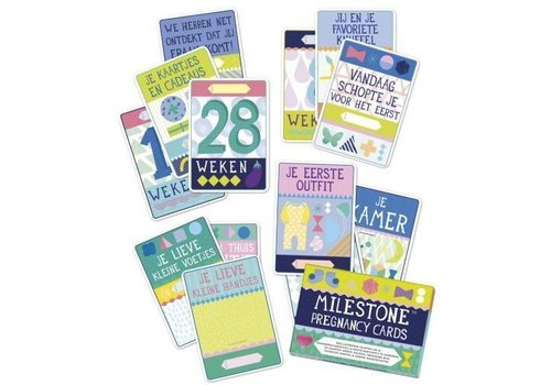 Dwell Studio Dwell Studio Milestone Pregnancy Cards NL