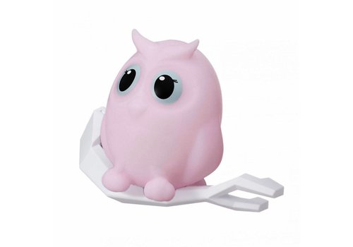 Flow Flow Night Light Owl Mel Pink