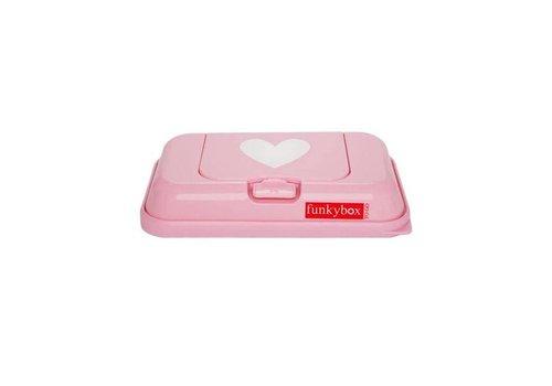 Funkybox Funkybox Wipe Box Go Pink Heart