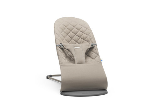 BabyBjörn Babybjorn Baby Bouncer Bliss Cotton Sand Grey