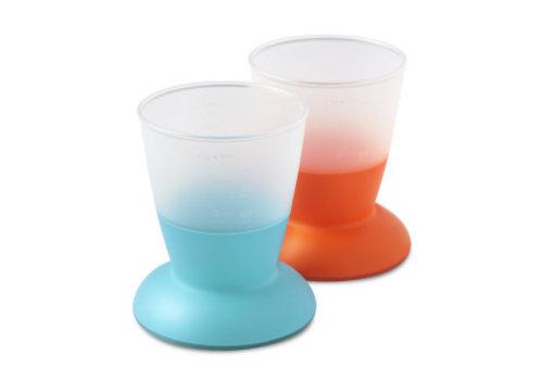 BabyBjörn Babybjorn Babybeker Duopak Oranje - Turquoise