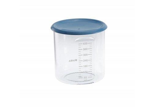 BEABA Beaba Bewaarpotjes Maxi Portie 420 ml  Blauw