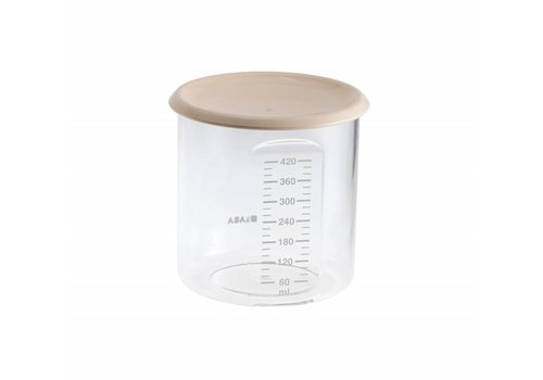 BEABA Beaba Storage Jar Maxi Portie 420 ml Nude