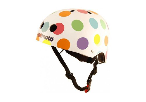 KiddiMoto Kiddimoto Helmet Pastel Dotty