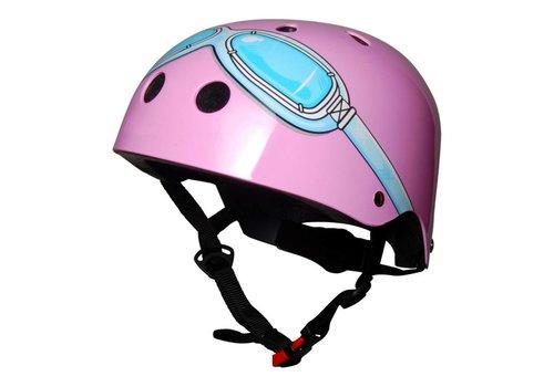 KiddiMoto KiddiMoto Helmet Pink Goggle S