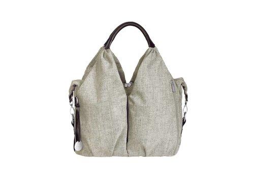 Lassig Lassig Verzorgtas Green Label Neckline Bag Choco Melange