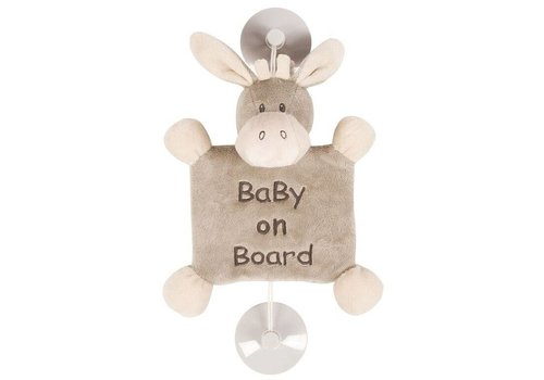 Nattou Nattou Suction Cup Donkey 'Baby On Board