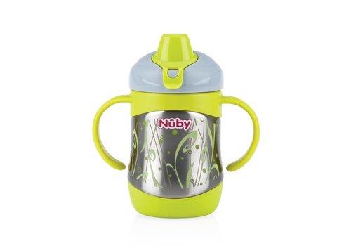 Nuby Inox Thermobeker Met Zachte Drinktuit 220 ml