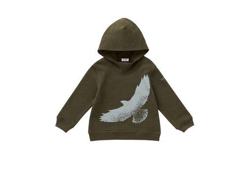 Il Gufo Il Gufo Sweater Vogel Kaki