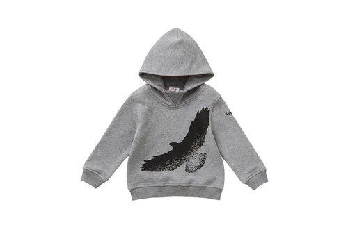 Il Gufo Il Gufo Sweater Vogel Grijs