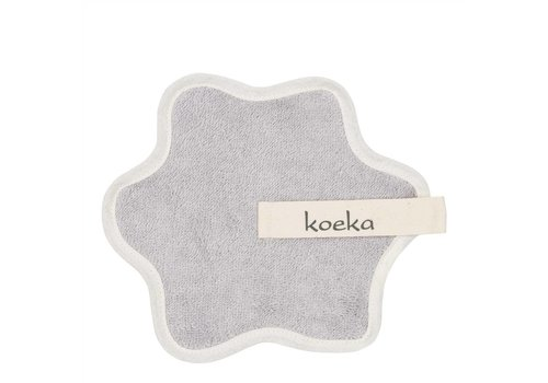 Koeka Koeka Pacifier Cloth Rome Silver Gray