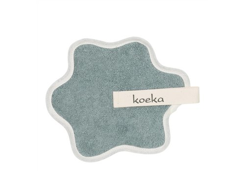 Koeka Koeka Pacifier Cloth Rome Saffier