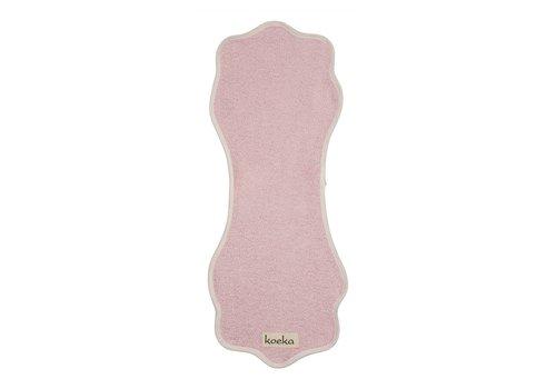 Koeka Koeka Burp Cloth Rome Soft Pink