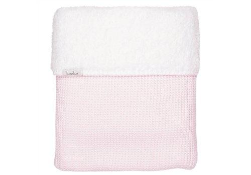 Koeka Koeka Cot Blanket Vizela 100 x 150 Water Pink Melange