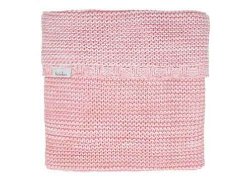 Koeka Koeka Baby Crib Blanket Porto Pink