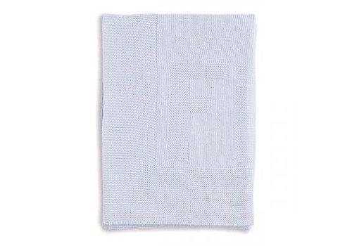 First First Deken Gebreid Cotton Ciel