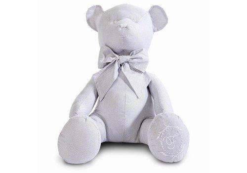 First First Teddybeer Lola 40 cm Lichtgrijs