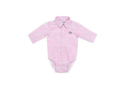 Natini Natini Body Shirt Stripes Pink Pierrot