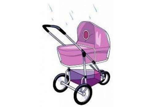Babsana Regenhoes Voor Kinderwagen