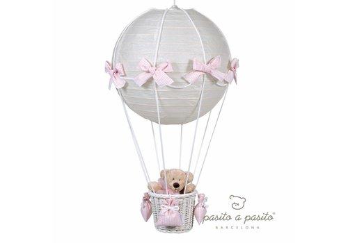 Pasito A Pasito Pasito A Pasito Luster Oso 40 x 70 cm Vichy Pink