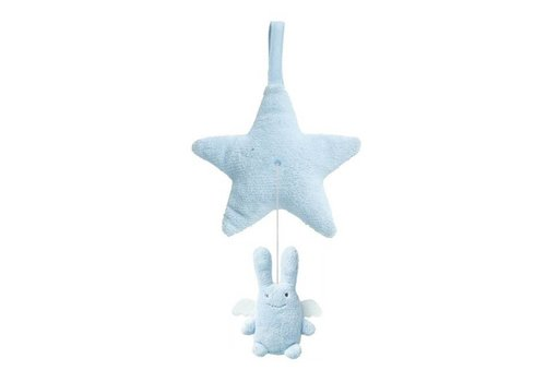 Trousselier Trousselier Musical Star With Angel Bunny Blue