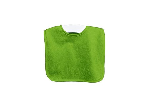 Timboo Timboo Bib Extra Big 37 x 50 With Push Button Lime