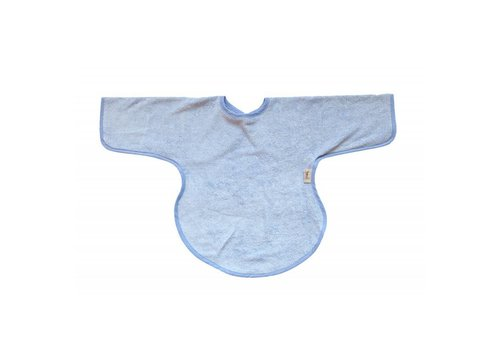 Timboo Timboo Bib Long Sleeves Soft Blue