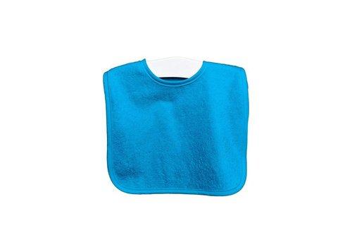 Timboo Timboo Bib Big 26 x 38 With Push Button Turquoise
