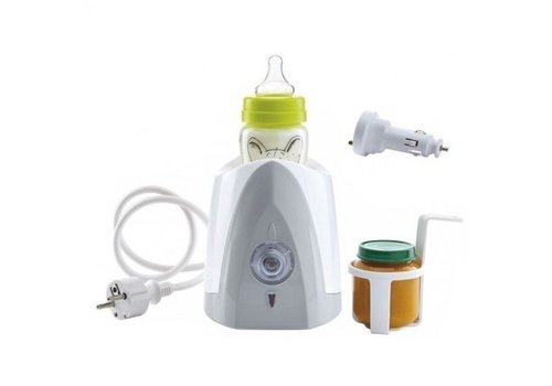 Thermo Baby Thermo Baby Bottle Heater Car + House Grey Agate