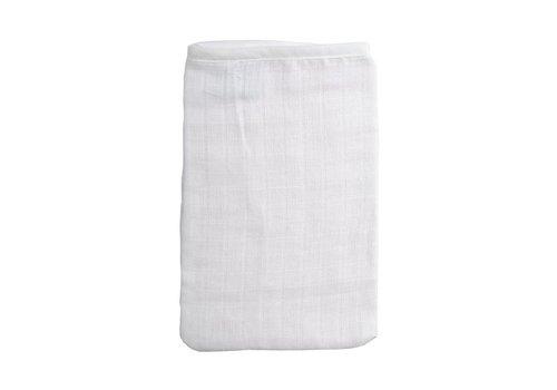 BabyBest Babybest Tetra Washcloth Double White 3 Pieces
