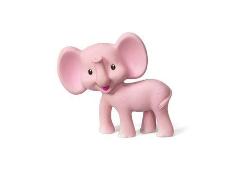 Infantino Infantino Knijp en Bijt Speeltje Olifant Roze