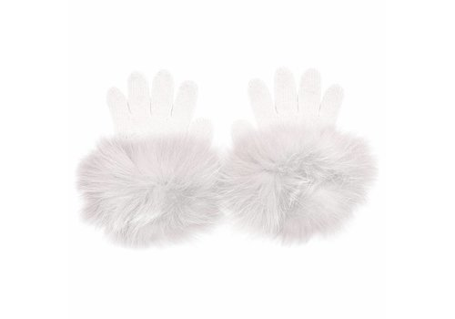 Monnalisa Monnalisa Handschoenen Wit