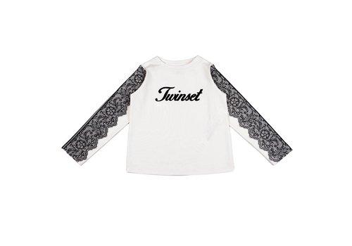 Twinset T-Shirt Logo Ecru
