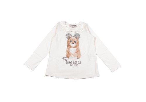 Twinset T-Shirt Ecru 245 24941