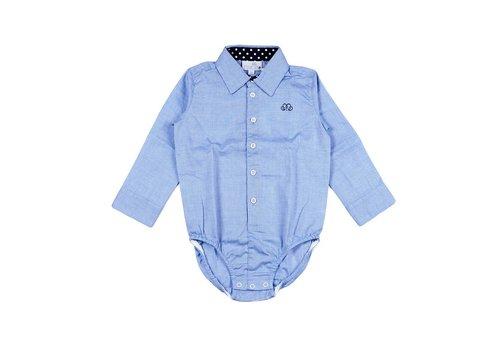Natini Natini Bodyhemd Spots Blauw