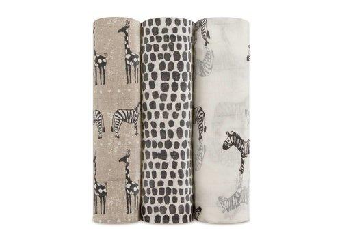 Aden & Anais Aden & Anais Tetradoeken Silky Soft Sahara 3-Pack