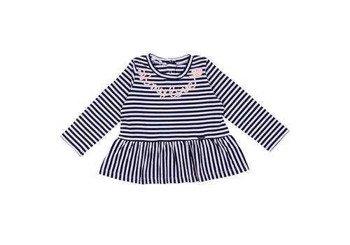 Liu Jo Liu Jo T-Shirt Navy Strepen