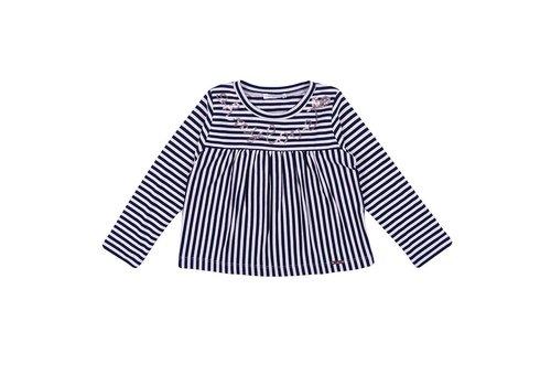 Liu Jo T-Shirt Roze - Navy Strepen