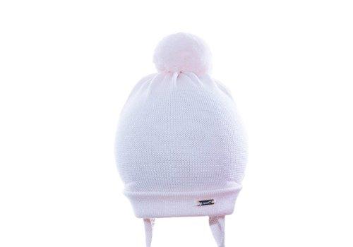 Il Trenino Il Trenino Hat Pink With Pom Pom