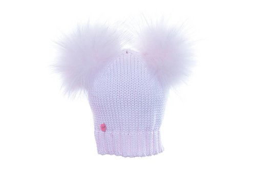 Catya Catya Hat With 2 Pom Pom Pink