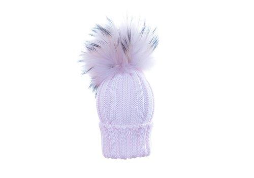 Catya Catya Hat With Pom Pom Pink