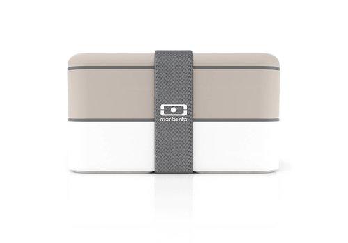 Monbento Monbento Lunch Box MB Original Grey - White