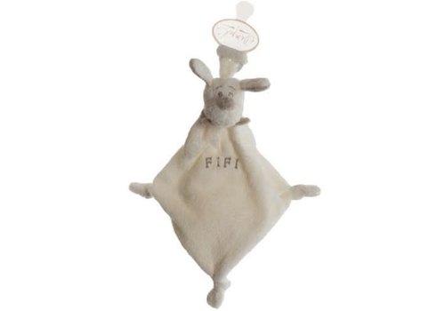 Dimpel Dimpel Cuddle Cloth Tuttie Fifi Off-white