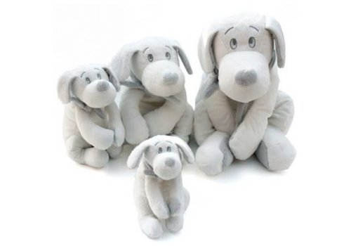Dimpel Dimpel Cuddly Toy Fifi Dog 75 cm White