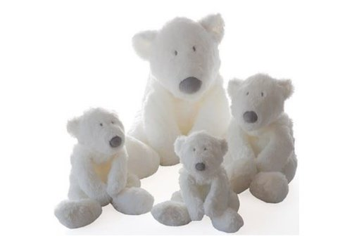 Dimpel Dimpel Cuddly Toy P Timo Baby Polar Bear 40 cm White