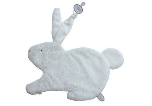 Dimpel Dimpel Cuddle Cloth Tuttie Emma Rabbit With Long Hair White